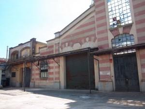 Pietro Fenoglio, Ex fonderie e smalterie Ballada, 1906. Locale fonderia, particolare. Fotografia L&M, 2011.