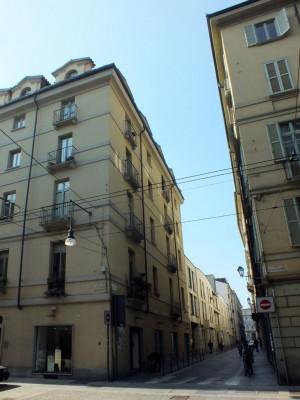 Via Palazzo di Città 9, 13. Fotografia di Paola Boccalatte, 2014. © MuseoTorino