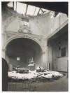 Via Camillo Benso di Cavour, Ospedale San Giovanni. Effetti prodotti dai bombardamenti dell'incursione aerea del 28 Novembre 1942. UPA 2218D_9C01-03. © Archivio Storico della Città di Torino