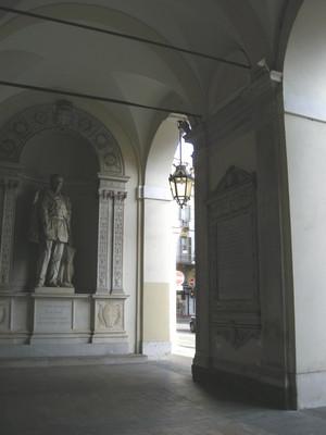 Lapide dedicata all'unione del Piemonte con le Province di Toscana, Modena, Parma e Piacenza