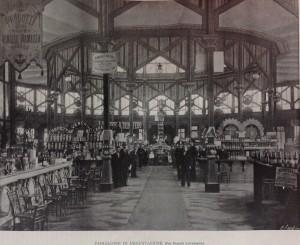 F.lli Lovazzano, Padiglione di Degustazione, in 1898. L'Esposizione Nazionale, Roux Frassati & Co., Torino 1898, p. 291