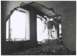 [Corso G.Agnelli] Fiat Mirafiori. Effetti prodotti dai bombardamenti del 4-5 dicembre 1940. UPA 0949D_9A02-10. © Archivio Storico della Città di Torino
