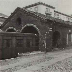 Rimessa-officina della stazione di Torino della linea ferroviaria Torino-Ciriè-Lanzo