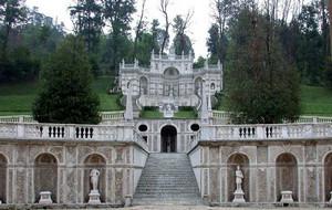 Giardini di Villa della Regina. Fotografia di Alessandro Vivanti 2010.