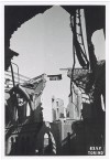 Corso Giulio Cesare angolo Via Malone (Chiesa Nostra Signora della Pace). Effetti prodotti dai bombardamenti dell'incursione aerea del 13 luglio1943. UPA 3670_9E02-05. © Archivio Storico della Città di Torino/Archivio Storico Vigili del Fuoco