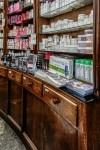 Farmacia Solferino, già San Giuseppe, scaffali, 2017 © Archivio Storico della Città di Torino