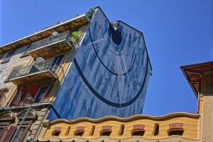 Corn79, Blu cerebrale, 2015, via Belfiore 40. Fotografia di Roberto Cortese, 2017 © Archivio Storico della Città di Torino