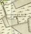 Cascina Cravetta. Amedeo Grossi, Carta Corografica dimostrativa del territorio della Città di Torino, 1791. © Archivio Storico della Città di Torino