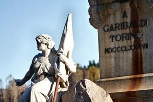 Odoardo Tabacchi, Monumento a Giuseppe Garibaldi (particolare della Libertà), 1887. Fotografia di Mattia Boero, 2010. © MuseoTorino.