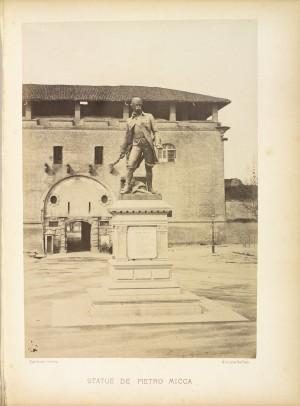 Giuseppe Cassano (1825-1905), Monumento a Pietro Micca. Fotografia di H. Le Lieur, Torino. © Archivio Storico della Città di Torino