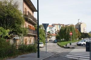 Tessuto ottocentesco di via Aosta e strada delle Maddalene