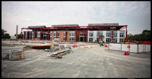 Il futuro Centro del Design (ex stabilimento Dai di Fiat Mirafiori). Fotografia di Michele D'Ottavio, 2010. © MuseoTorino.