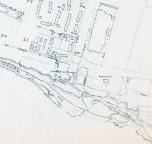 Cascina Mirafiori. Istituto Geografico Militare, Pianta di Torino, 1974. © Archivio Storico della Città di Torino