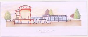 Progetto di restauro e di riqualificazione di villa Amoretti. © Servizio Edilizia per la Cultura.