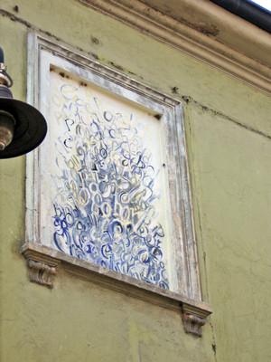 Tiziana Brisotto, Opera murale per il MAU Museo Arte Urbana, Via Musinè, sostituita nel 2013. Fotografia di Alessandro Vivanti, 2011
