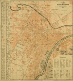 Plan de la ville de Turin, 1906