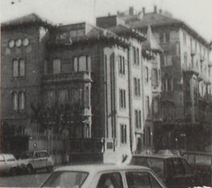 Piccolo nucleo di palazzine in via Cibrario 56 e 58