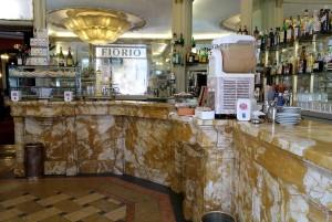 Caffè Fiorio, bancone, 2016 © Archivio Storico della Città di Torino