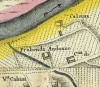 Cascina Prebenda Andonno. Amedeo Grossi, Carta Corografica dimostrativa del territorio della Città di Torino, 1791. © Archivio Storico della Città di Torino