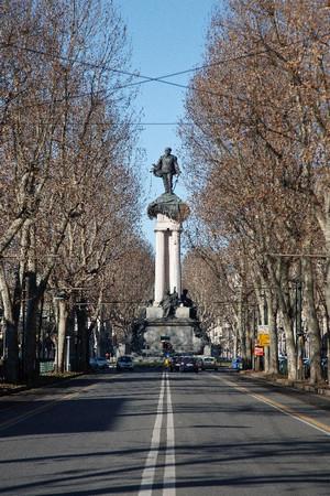 Pietro Costa, Monumento a Vittorio Emanuele II (veduta), 1882-1899. Fotografia di Mattia Boero, 2009. © MuseoTorino.