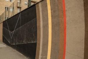Moneyless, murale senza titolo, 2012, via Nizza ang. via Rosmini. Fotografia di Roberto Cortese, 2017 © Archivio Storico della Città di Torino