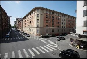 27° quartiere IACP, vie Lancia, Matilde Serao (un tempo Monte Asolone)