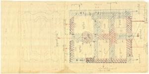 Bombardamenti aerei. Censimento edifici danneggiati o distrutti. ASCT Fondo danni di guerra inv. 105 cart. 2 fasc. 34. © Archivio Storico della Città di Torino