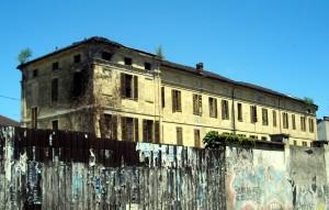 Ex Istituto buon Pastore, angolo sud-ovest delle carceri. Fotografia di Silvia Bertelli
