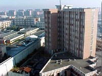 Casa Circondariale Lorusso Cutugno, palazzina degli alloggi del personale
