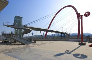 Villaggio olimpico e Arco