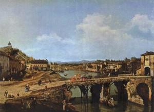 Antico ponte della Porta di Po