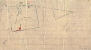 Bombardamenti aerei. Censimento edifici danneggiati o distrutti. ASCT Fondo danni di guerra inv. 2077 cart. 43 fasc. 22. © Archivio Storico della Città di Torino