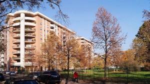 Area ex Capamianto, edifici residenziali. Fotografia di Francesca Talamini