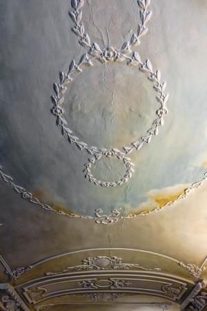 Volta con decorazione a stucco del negozio Le fleur de coucou, 2017 © Archivio Storico della Città di Torino