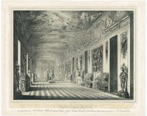 Armeria Reale, litografia di Ajello e Doyen, 1837. © Archivio Storico della Città di Torino