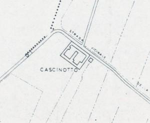 Cascina Perrone. Istituto Geografico Militare, Pianta di Torino, 1974. © Archivio Storico della Città di Torino