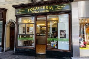 Focacceria ligure, ex gioielleria La Conterja, già Reale Ombrelleria