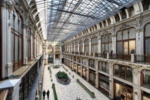 Pietro Carrera, Galleria Subalpina (veduta dall'alto), 1874. Fotografia di Mattia Boero, 2010. © MuseoTorino.