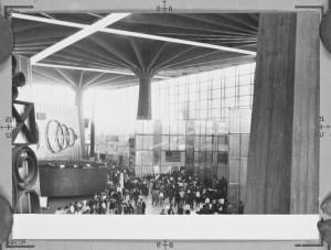 L'allestimento dell'esposizione internazionale del Lavoro a cura di Gio Ponti. ©PIERLUIGINERVI PROJECT