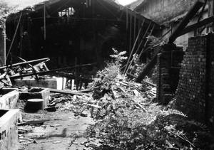 Parti dell'edificio danneggiate dai bombardamenti.Per gentile concessione di Domenico Coletti