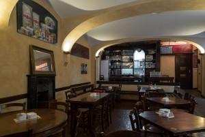 Abrate, bar-tavola calda; ex pasticceria. Sala, 2017 © Archivio Storico della Città di Torino