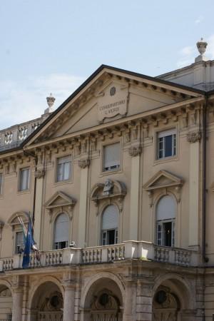 Conservatorio Giuseppe Verdi. Fotografia di Edoardo Vigo, 2012