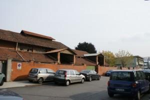 Il fabbricato nel 2009 prima dell'inizio della ristrutturazione. Fotografia Giuseppe Beraudo, 2009