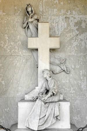 05 AV  Pietro Canonica (1869-1959), Tomba Boetti-Calandra (Arcata 30). Fotografia di Roberto Cortese, 2018