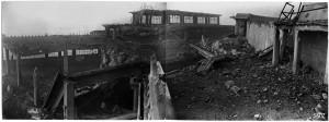 Via Nizza, FIAT Lingotto. Effetti prodotti dai bombardamenti dell'incursione aerea dell' 8-9 dicembre 1942. UPA 2841_9F02_50. © Archivio Storico della Città di Torino