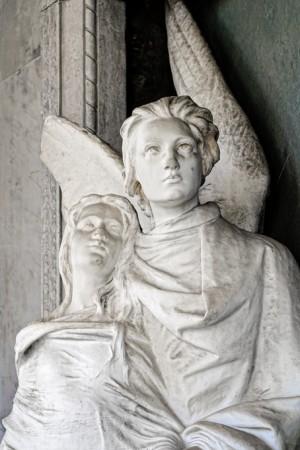10 AV  Pietro Canonica (1869-1959), Tomba famiglia Bianco (Arcata 5). Fotografia di Roberto Cortese, 2018