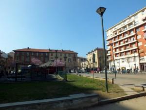 Piazza Risorgimento lato via Fiano, via Digione, via Nicola Fabrizi. Fotografia di Paola Boccalatte, 2014. © MuseoTorino