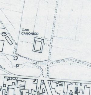 Cascina Canonico. Istituto Geografico Militare, Pianta di Torino, 1974. © Archivio Storico della Città di Torino