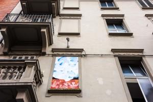 Andrea Quaranta, murale senza titolo, 1990, via Levanna 27, MAU Museo Arte Urbana. Fotografia di Roberto Cortese, 2017 © Archivio Storico della Città di Torino