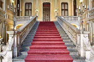 L'atrio di Palazzo Barolo. Fotografia di Mattia Boero, 2010. © MuseoTorino.